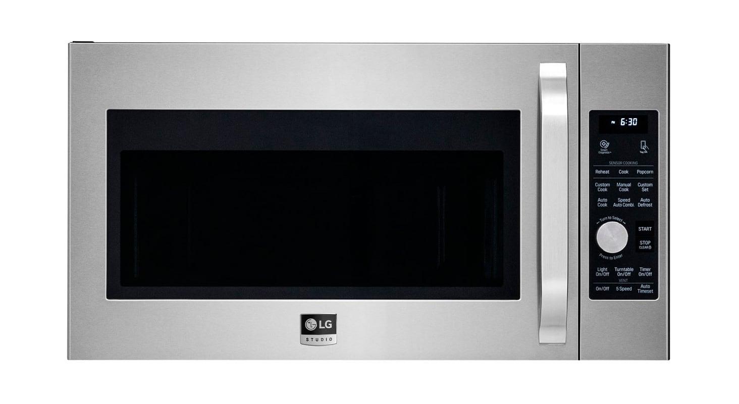 LG LSMC308 30 Inch Wide 1.7 Cu. Ft. Capacity 950 Watt Over the Range Microwave w photo