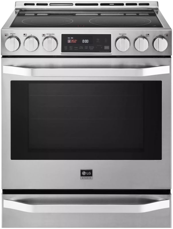 LG LSSE302 30 Inch Wide 6.3 Cu. Ft. Electric Slide-In Range with ProBake Convect photo
