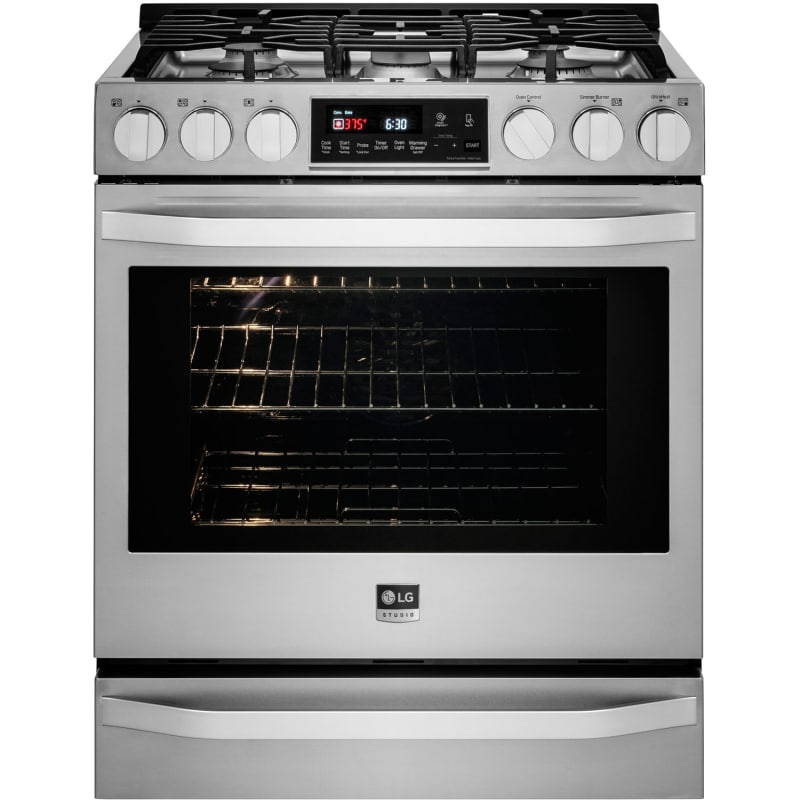 LG LSSG301 30 Inch Wide 6.3 Cu. Ft. Gas Slide-In Range with ProBake Convection a photo