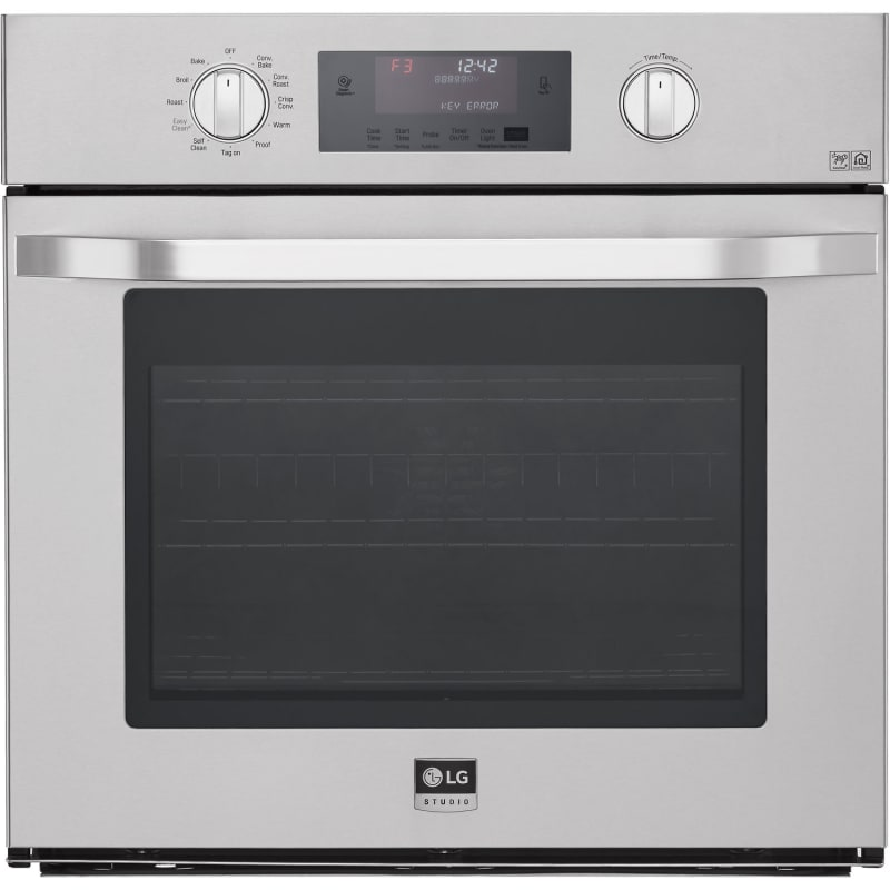 LG LSWS30 30 Inch Wide 4.7 Cu. Ft. Electric Single Oven with 4 Mode True Convect photo