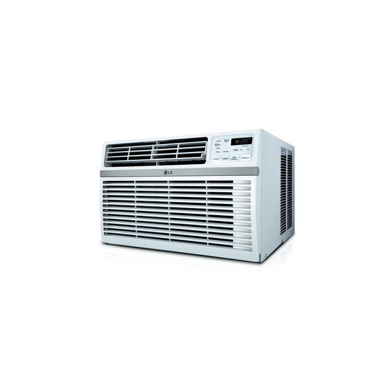 LG LW1016ER 10000 BTU 115V Window Air Conditioner with Three Fan Speeds Remote C photo
