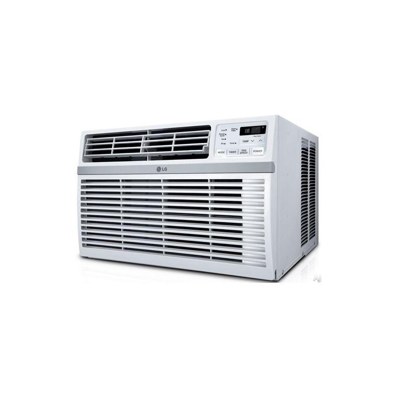 LG LW1216ER 12000 BTU 115V Window Air Conditioner with Three Fan Speeds Remote C photo