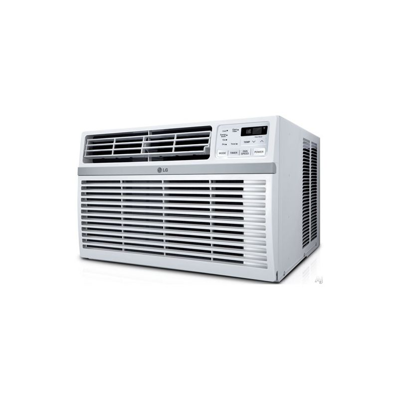 LG LW8016ER 8000 BTU 115V Window Air Conditioner with Three Fan Speeds Remote Co photo