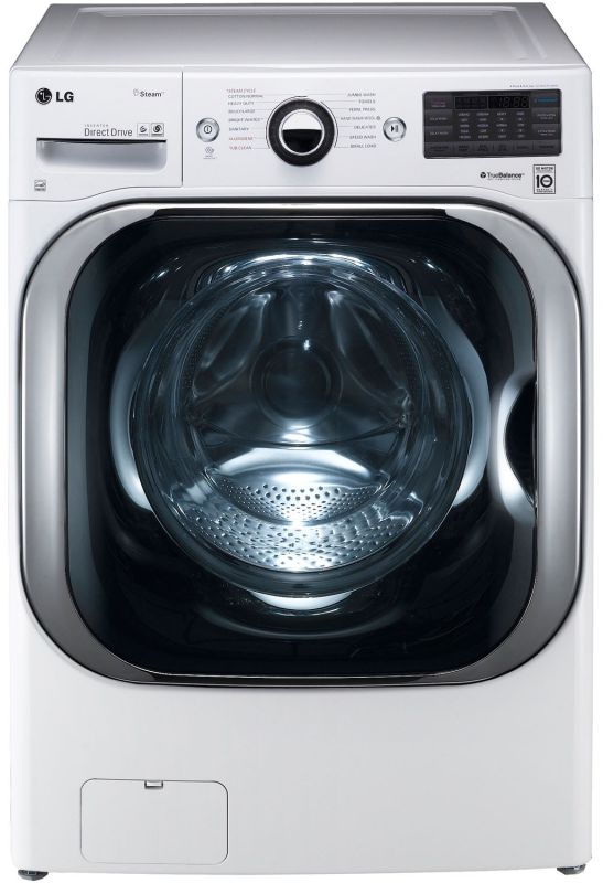 LG WM8000H 5.1 Cu. Ft. Front Load Washer with Steam Technology and TurboWash photo