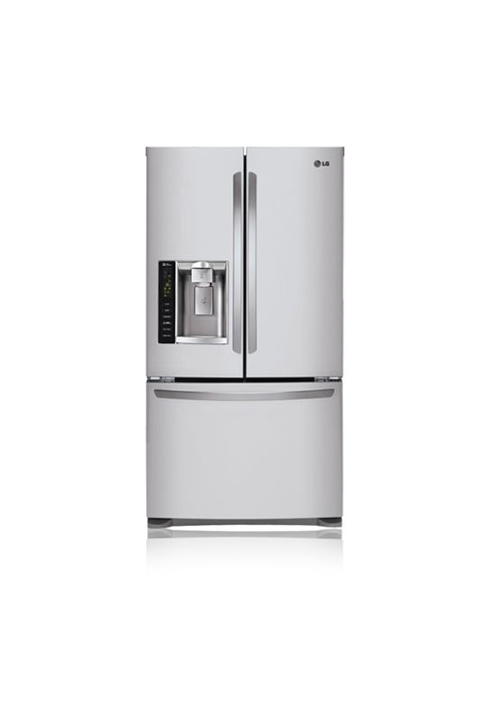 LG LFX25974 25 Cu. Ft. French Door Refrigerator with Pull-out Freezer Drawer and photo