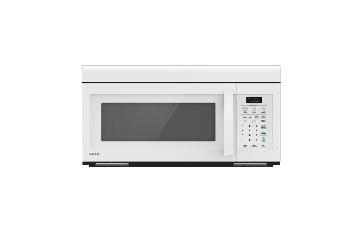 LG LMV1683 1.6 Cu. Ft. Non-Sensor Over the Range Microwave Oven