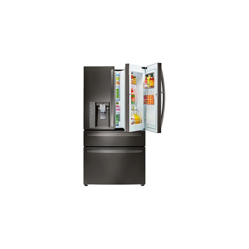 LG LMXS30776 30 Cu. Ft. 36 Inch Wide 4-Door French Door Refrigerator with Door-I photo