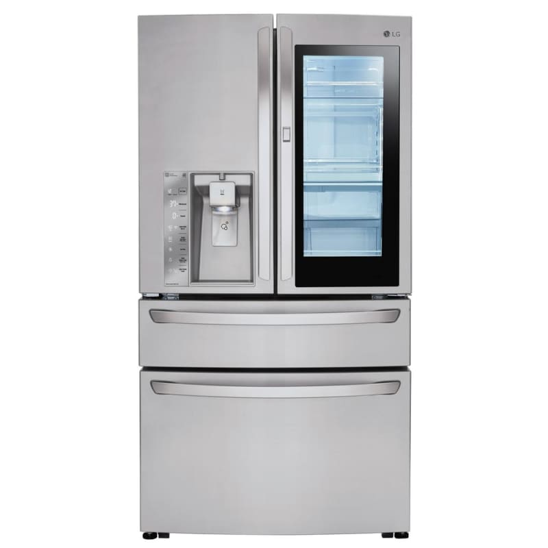 LG LMXS30796 36 Inch Wide 29.7 Cu. Ft. Energy Star Rated French Door Refrigerato photo