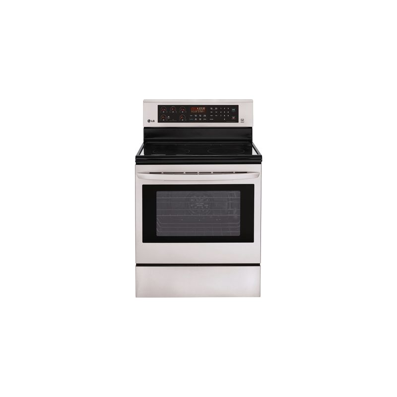 LG LRE3083S 6.3 Cu. Ft. Electric Single Oven Range with True Convection photo