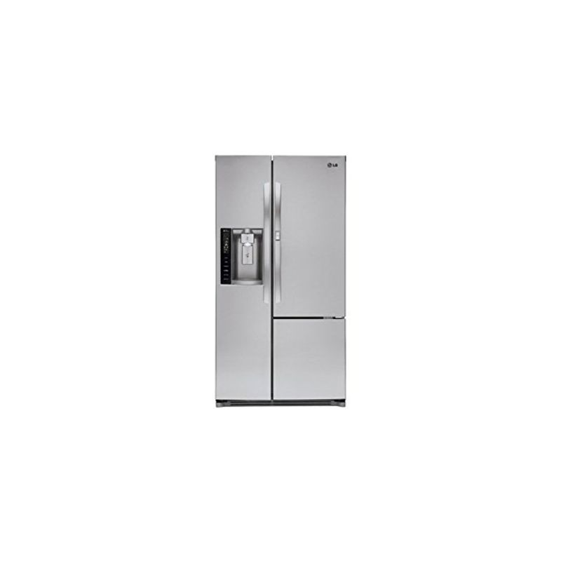 LG LSXS26366S 36 Inch Wide 26 Cu. Ft. Side-By-Side Refrigerator with Door-In-Doo photo