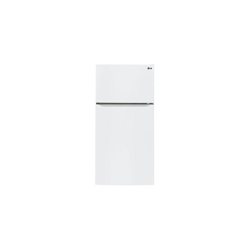 LG LTCS24223 33 Inch Wide 24 Cu. Ft. Energy Star Top Mount Refrigerator with Gli photo