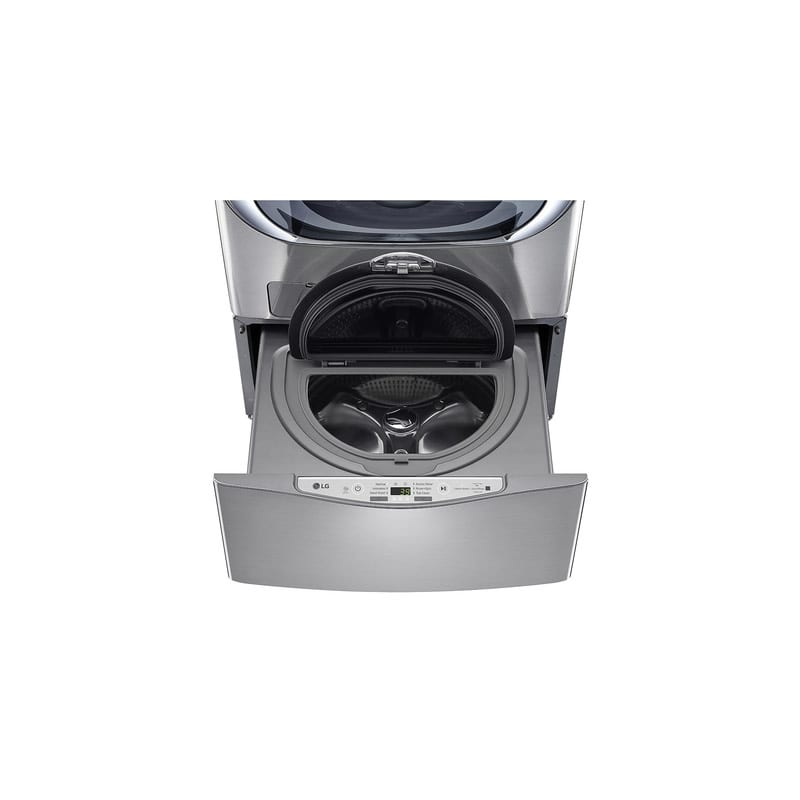 LG WD200CV 1.0 Cu. Ft. SideKick™ Pedestal Washer with Twin Wash™ Compatibility photo