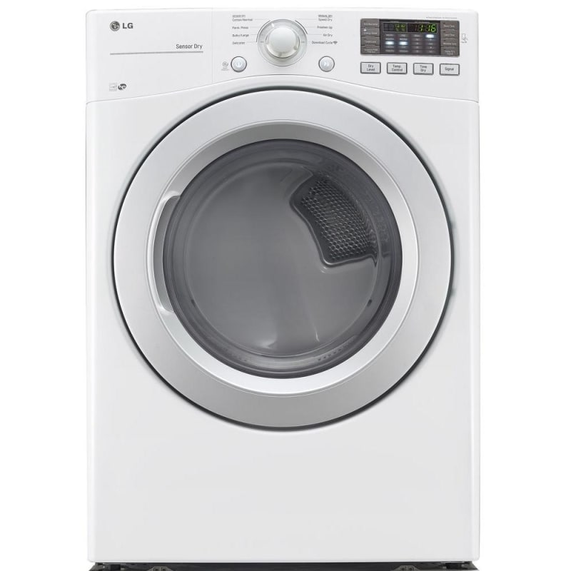 LG DLE3170 27 Inch Wide 7.4 Cu. Ft. Energy Star Rated Electric Dryer with NFC Ta photo