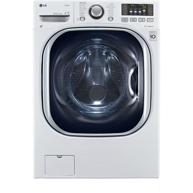 LG WM3997H 4.3 Cu. Ft. Washer/Dryer Combo with Steam Technology photo