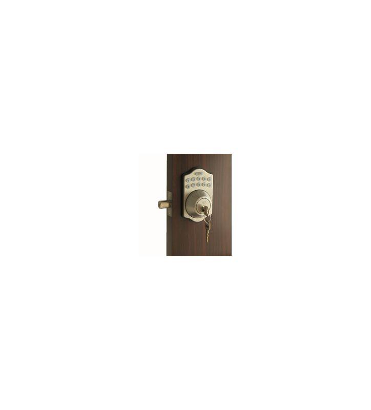 Lockey E-910 R Electronic Keypad Single Cylinder Deadbolt, Remote Control Capabl Deal