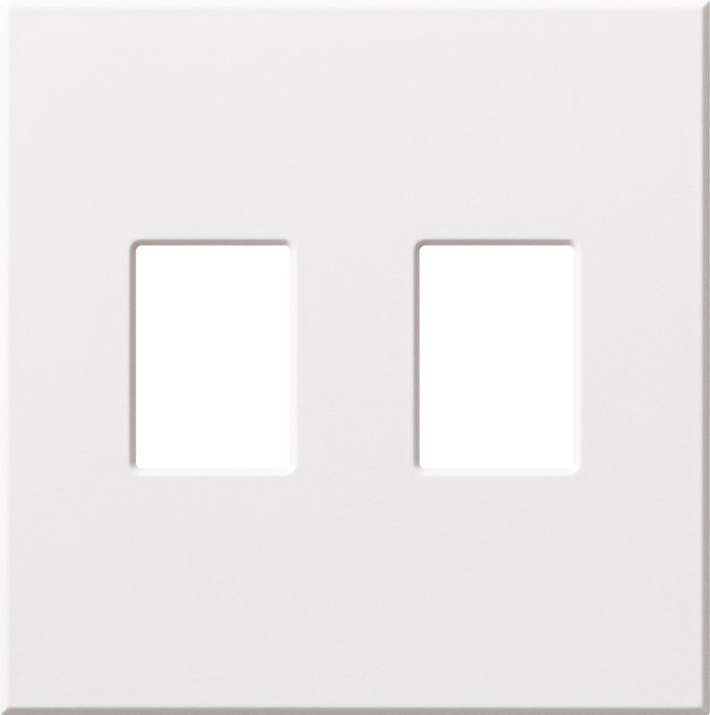 lutron vwp3 architectural three gang wall plate for three dimmers or switches. Black Bedroom Furniture Sets. Home Design Ideas