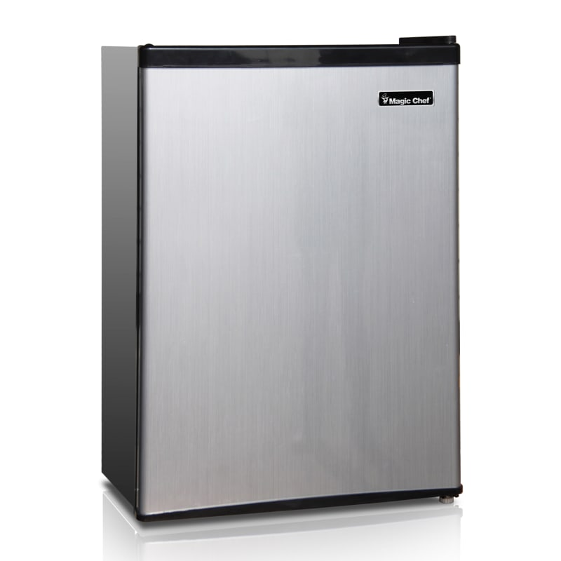 Magic Chef MCBR240 18 Inch Wide 2.4 Cu. Ft. Compact Refrigerator with Removable photo