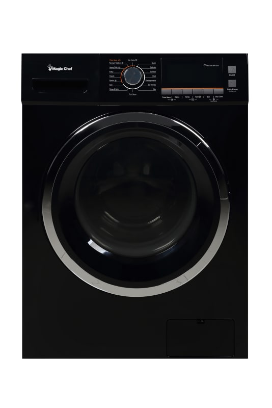 Magic Chef MCSCWD20 24 Inch Wide 2.0 Cu. Ft. Front Loading Electric Washer / Dry photo