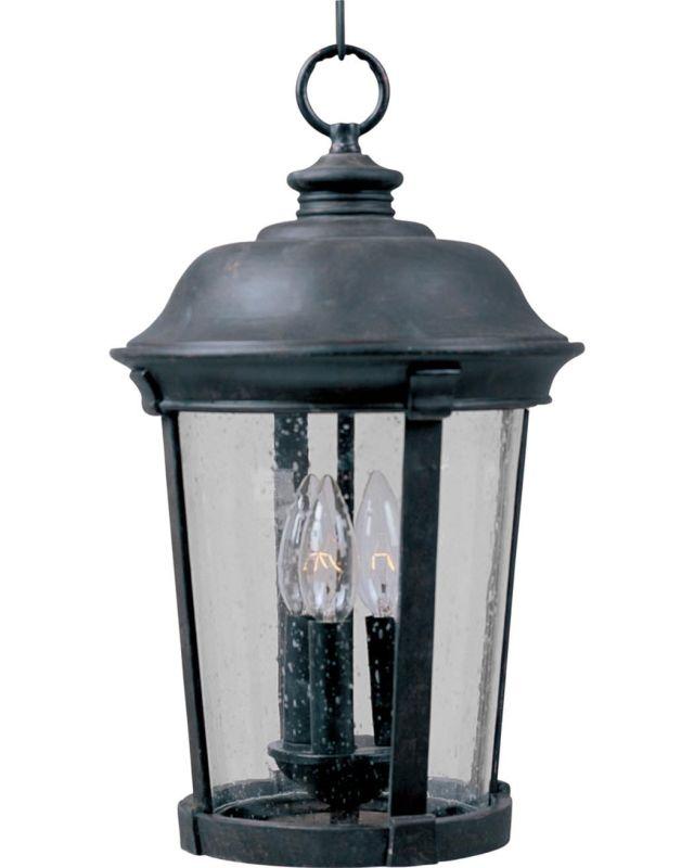 Maxim 3029 Dover DC 3 Light Outdoor Lantern Pendant photo