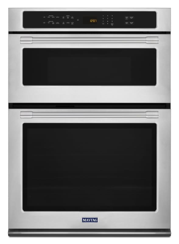 Maytag MMW9730FZ Stainless Steel 30 Inch Wide 5.0 Cu. Ft. Combination Wall Oven photo