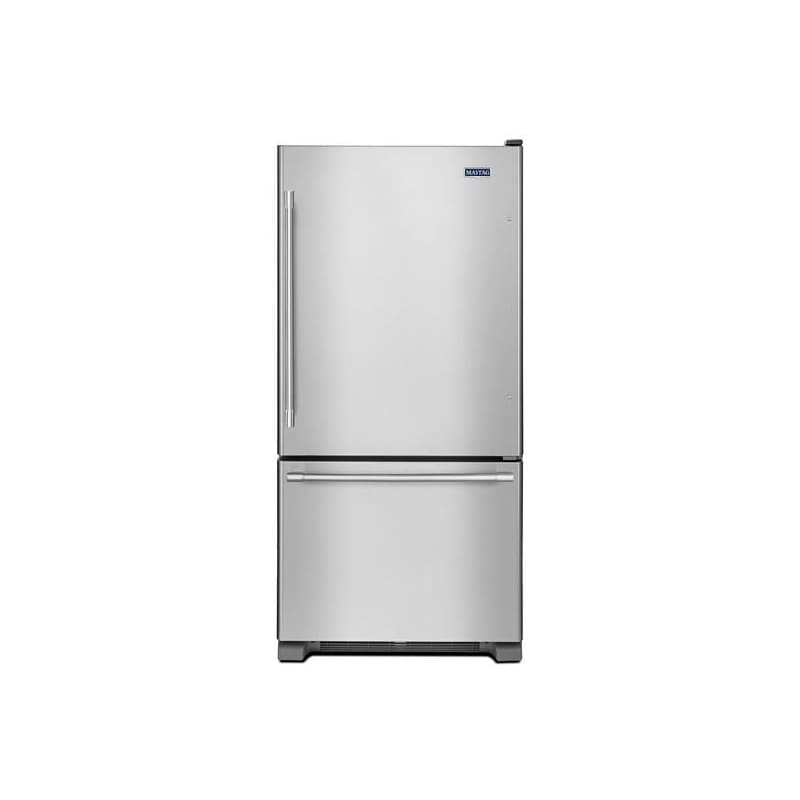 Maytag MBF2258FE 33 Inch Wide 22.07 Cu. Ft. Energy Star Rated Bottom Mount Refri photo
