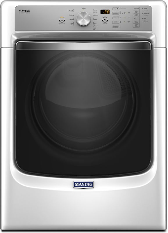 Maytag MED8200F 27 Inch Wide 7.4 Cu. Ft. Energy Star Rated Electric Dryer with S photo