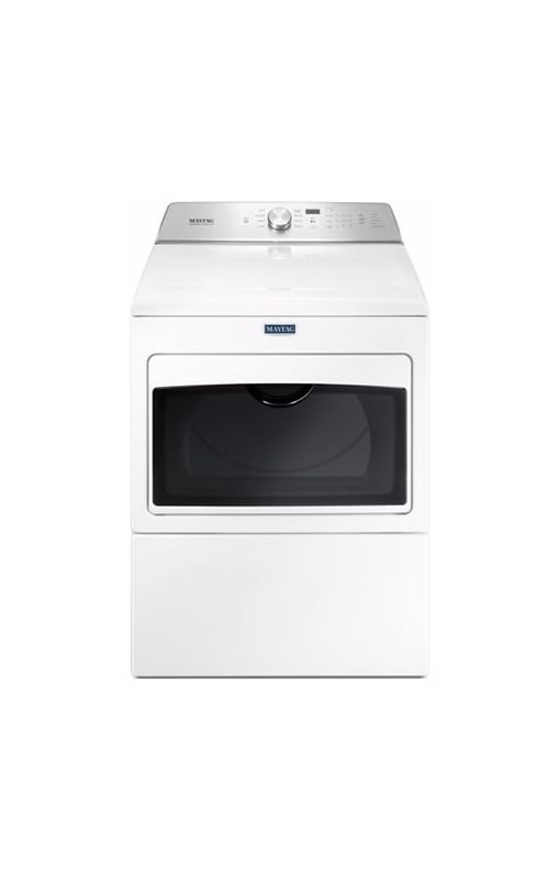 Maytag MEDB765F 27 Inch Wide 7.4 Cu. Ft. Capacity Electric Dryer with IntelliDry photo