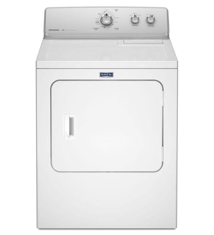 Maytag MEDC215E 29 Inch Wide 7 Cu. Ft. Electric Dryer with Heavy-Duty Motor photo