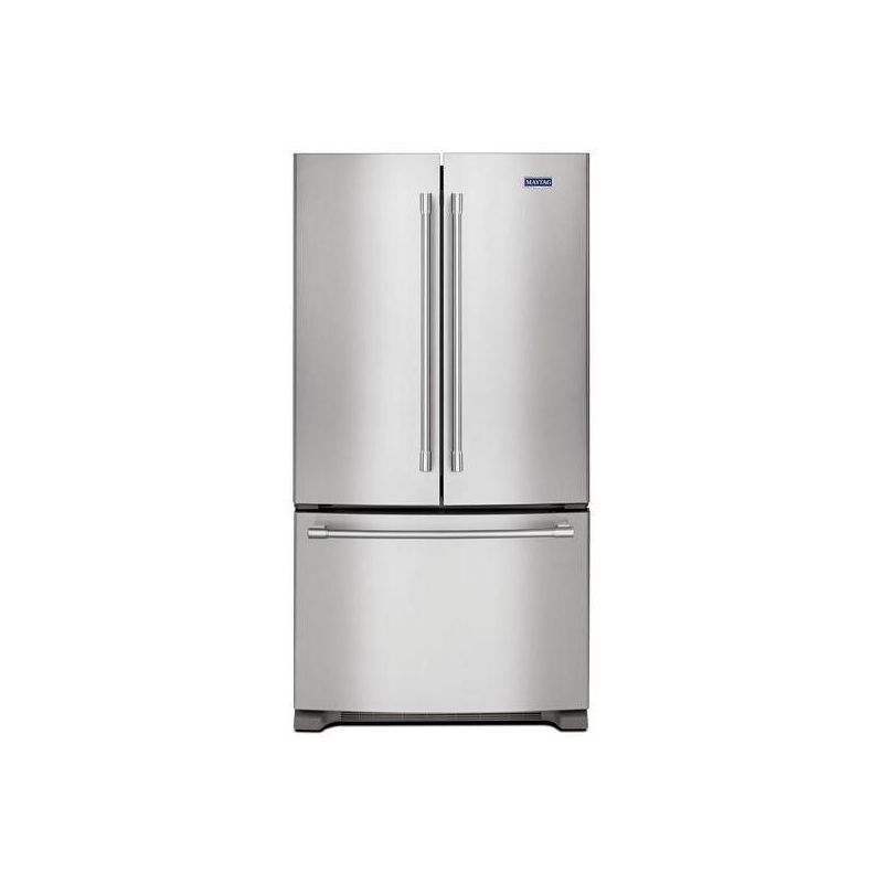 Maytag MFC2062FE 36 Inch Wide 20 Cu. Ft. Energy Star Rated French Door Refrigera photo