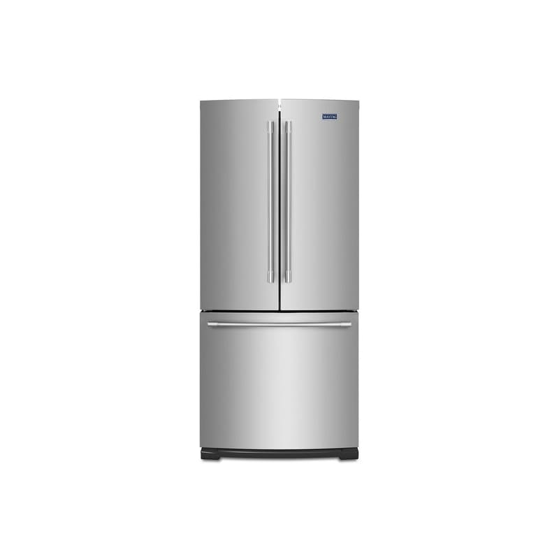 Maytag MFF2055FR 30 Inch Wide 19.68 Cu. Ft. French Door Refrigerator with Wide-N photo
