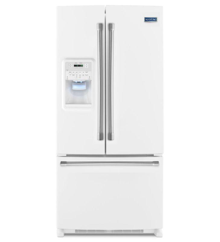 Mfi2269frz Maytag 33 Inch Wide French Door Refrigerator