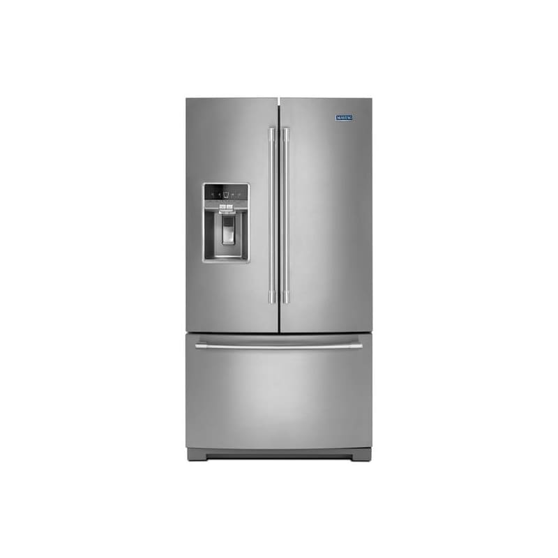 Maytag MFT2776FE 36 Inch Wide 26.8 Cu. Ft. Energy Star Rated French Door Refrige photo