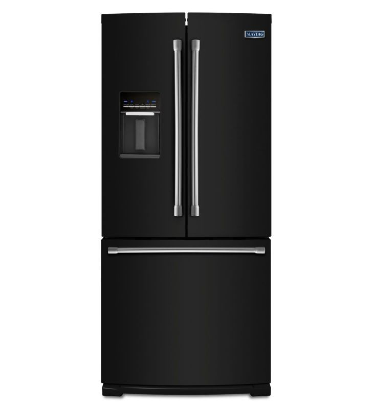 Kitchenaid 30 19 7 Cu Ft French Door Refrigerator With: 30 Wide Refrigerator