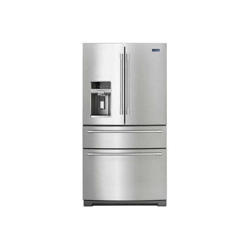 Maytag MFX2676FR 36 Inch Wide 26.2 Cu. Ft. French Door Refrigerator with Steel S photo