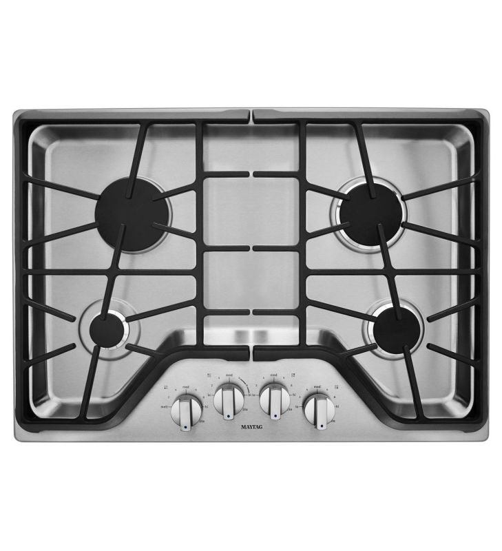 Maytag MGC9530D 30 Inch Wide Four Burner Gas Cooktop with 18,000 BTU Power Burne photo