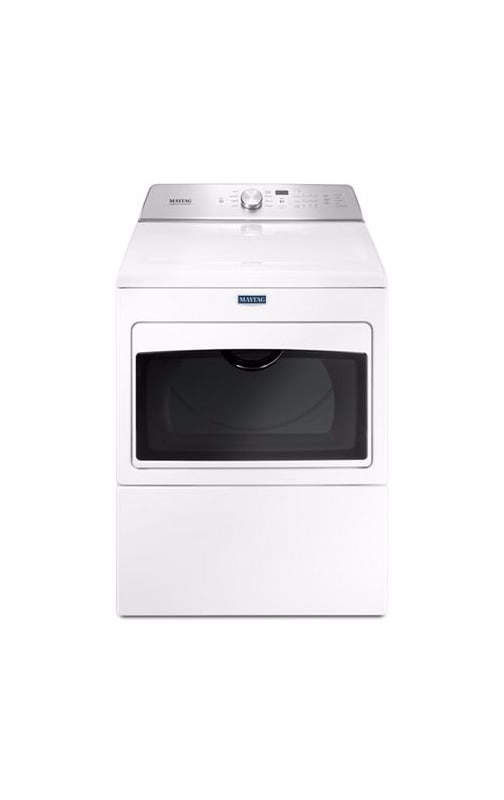 Maytag MGDB765F 27 Inch Wide 7.4 Cu. Ft. Capacity Gas Dryer with IntelliDry Tech photo