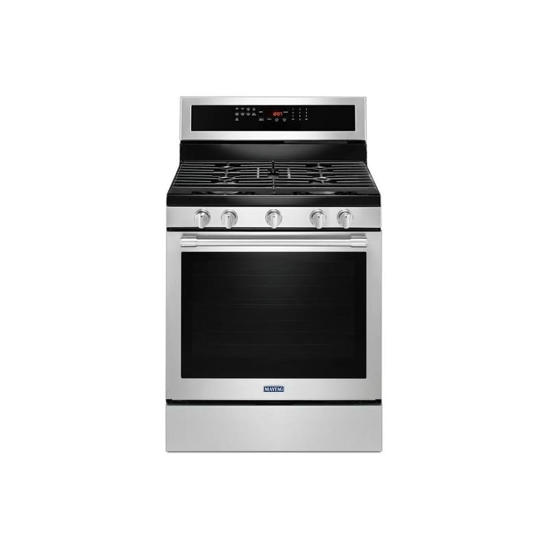 Maytag MGR8800F 30 Inch Wide 5.8 Cu. Ft. Free Standing Gas Range with True Conve photo