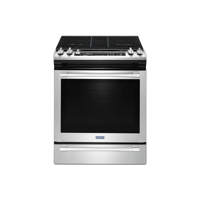 Maytag MGS8800F 30 Inch Wide 5.8 Cu. Ft. Slide-In Gas Range with True Convection photo