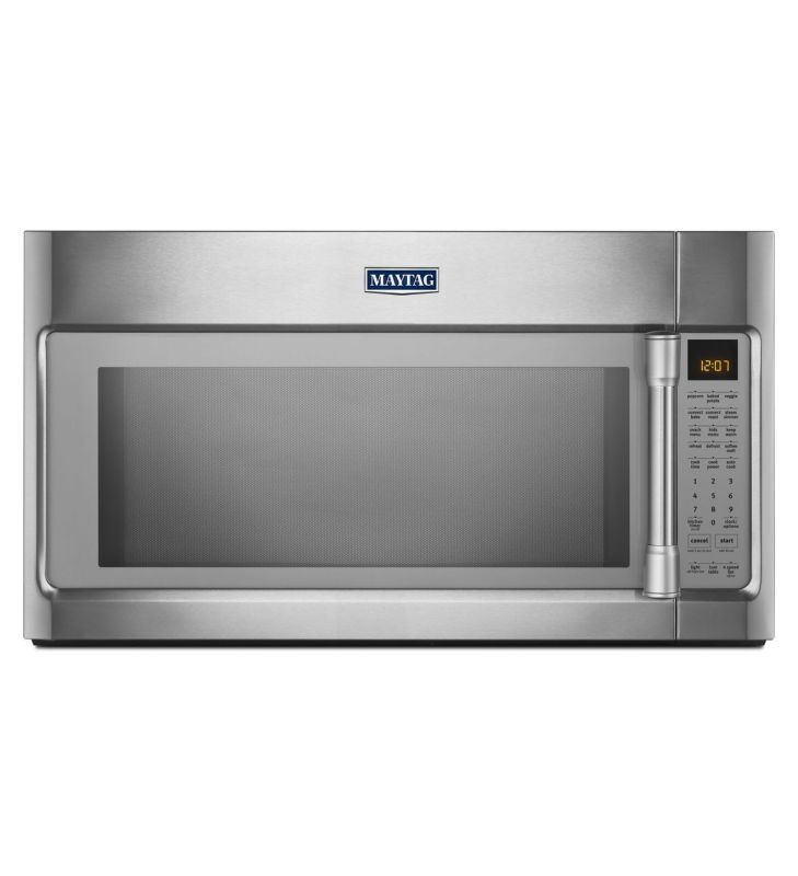 Maytag MMV6190D 30 Inch Wide 1.9 Cu. Ft. 400 CFM Over the Range Microwave with E