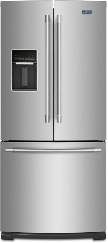 Maytag MFW2055 30 Inch Wide 20 Cu. Ft. French Door Refrigerator with Fresh Flow photo