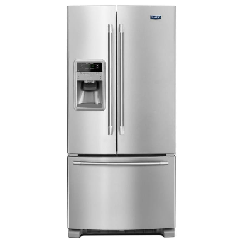 Maytag MFI2269FR 33 Inch Wide 21.71 Cu. Ft. French Door Refrigerator with Wide-N photo