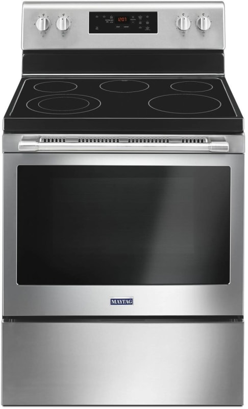 Maytag MER6600F 30 Inch Wide 5.3 Cu. Ft. Capacity Free Standing Electric Range w photo