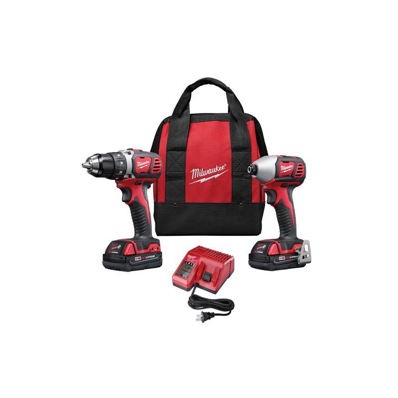 Milwaukee 2691-22 18 Volt 2-Tool Combo Kit
