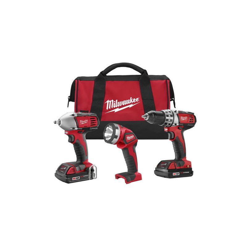 Milwaukee 2691-23 18 Volt Cordless 3 Tool
