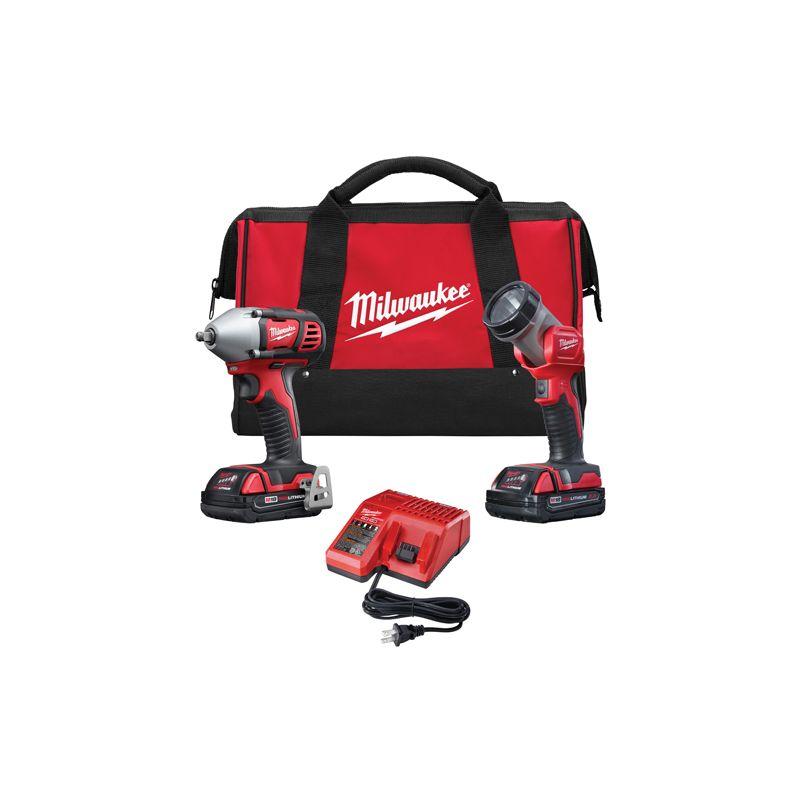 Milwaukee 2693-22 18 Volt Cordless 2 Tool