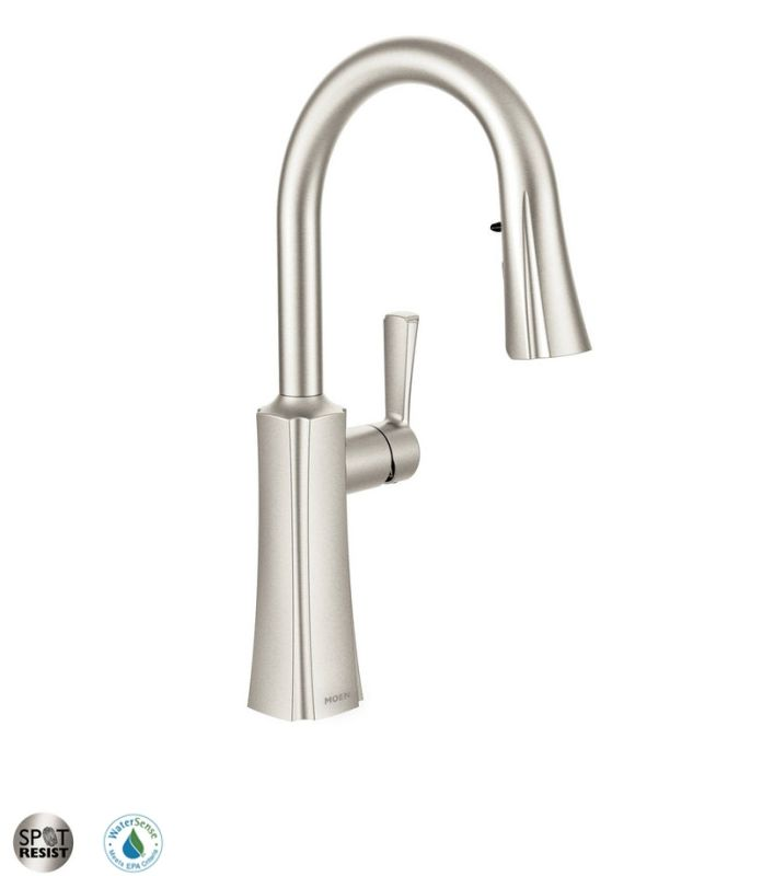 moen boutique pull down faucet search