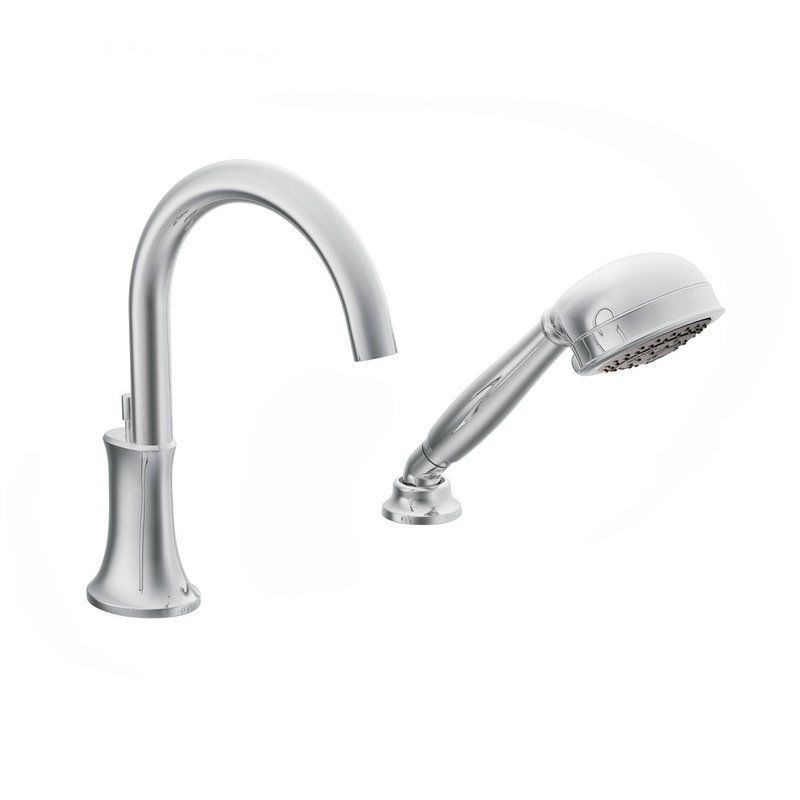 UPC 026508215463 - Moen TS9622 Chrome Icon Roman Tub Faucet Trim ...