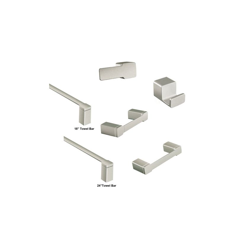 Moen 90 degree accessories bundle 1 build com