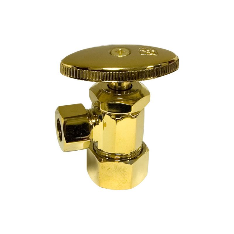 Monogram Brass MB-SVLV-300 Decorative Standard Water Supply Angle Stop photo