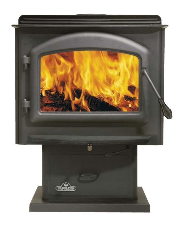 Napoleon 1100 EPA 1.7 Cubic Foot Wood Burning Pedestal Stove